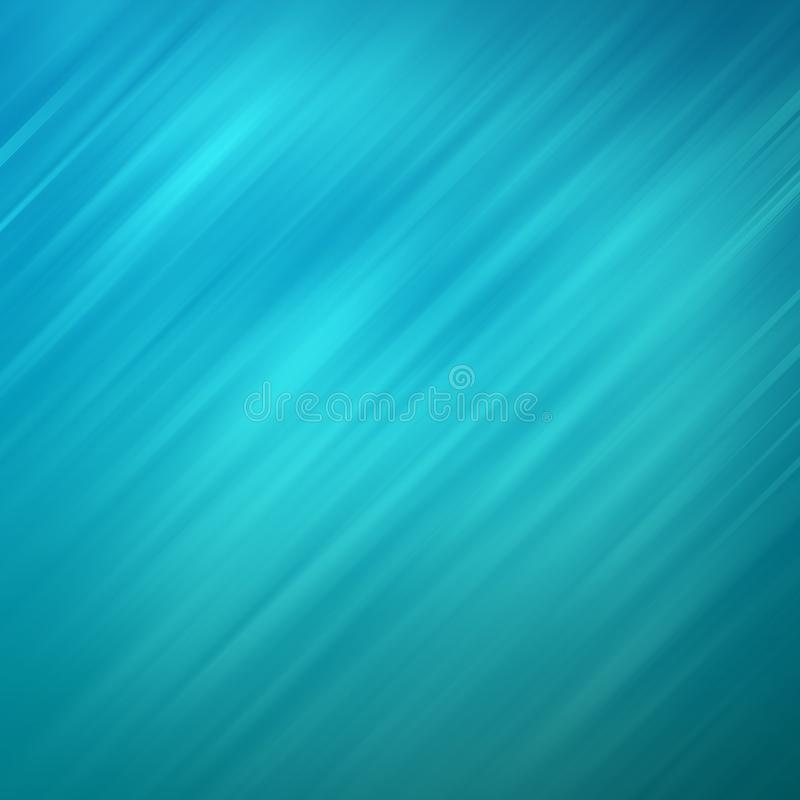 Ligne bleue abstraite fond d'effet avec l'effet brouillé de l'eau images libres de droits