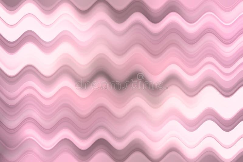 Ligne brouillée de vague, fond abstrait coloré photo libre de droits