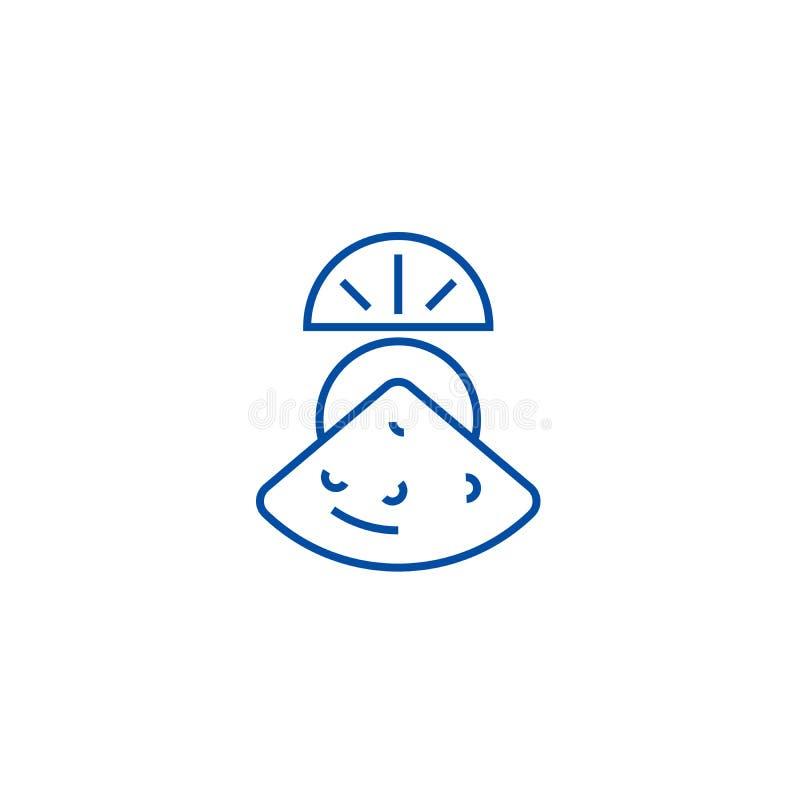Ligne concept de moule d'icône Symbole plat de vecteur de moule, signe, illustration d'ensemble illustration stock