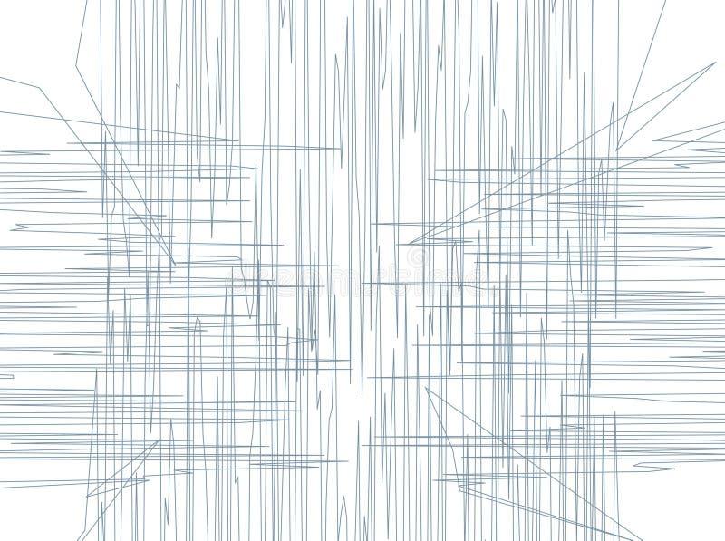 Ligne configuration illustration stock