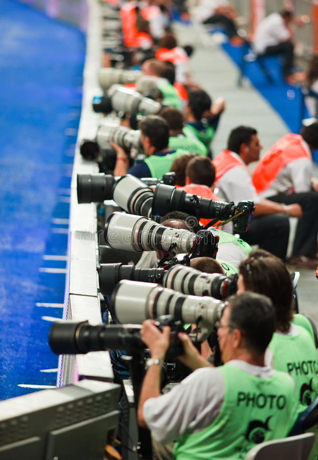 Ligne d'appareil-photo photos stock