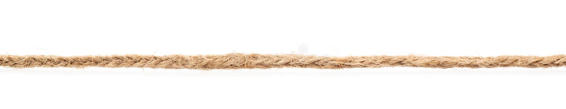 Ligne d'une ficelle de toile de corde photographie stock