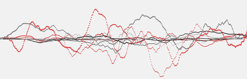 Ligne de battement de coeur cardiogram Impulsion de coeur ?coulement l?ger dynamique rendu 3d illustration libre de droits