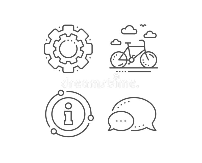 Ligne de location icône de vélo Signe de loyer de bicyclette Service h?telier Vecteur illustration de vecteur