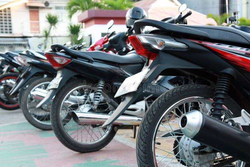 Ligne de moto image libre de droits