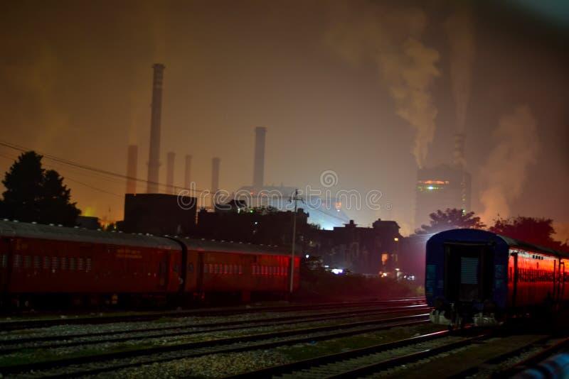 Ligne de rail photos libres de droits