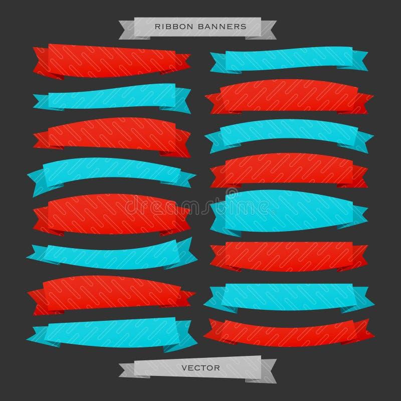 Ligne de rubans illustration libre de droits