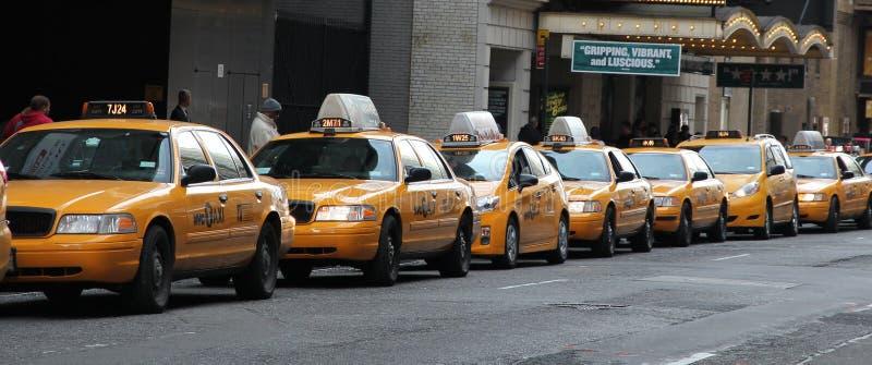 Ligne de taxi images stock