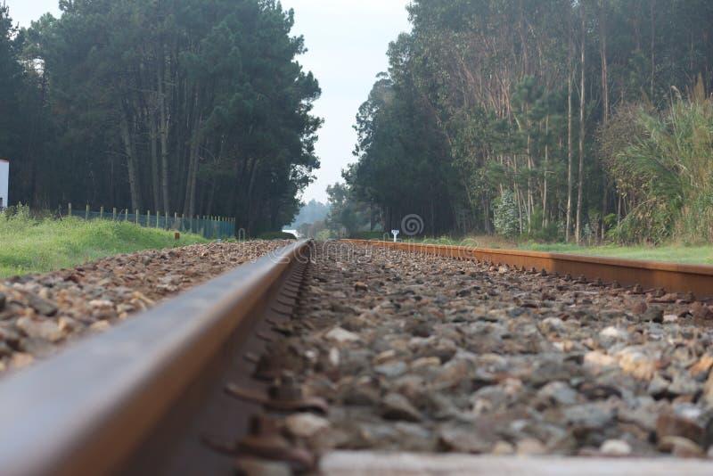 Ligne de train photo stock