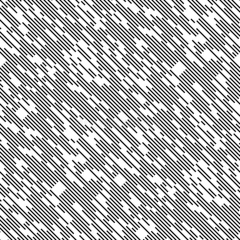 Ligne diagonale sans couture modèle illustration libre de droits