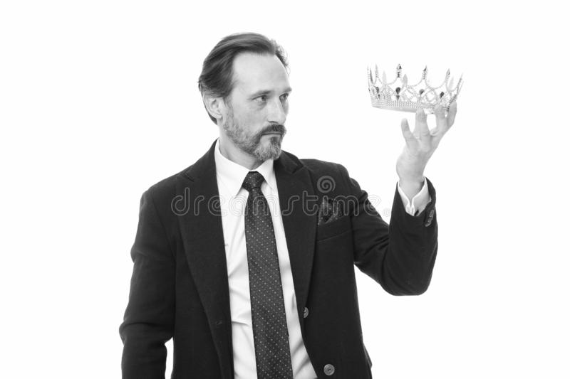 Ligne directe au tr?ne ?norme privil?ge C?r?monie devenue de roi Attribut de roi Prochain roi devenu Famille de monarchie photo stock