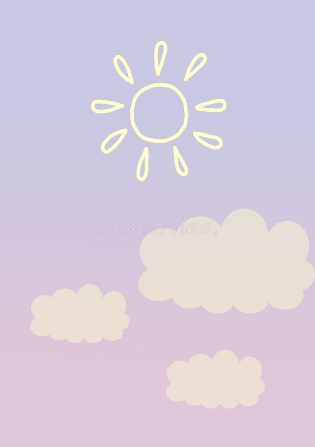 Ligne en pastel abstraite couleur en pastel de forme de fond de minimalis de papier coloré images libres de droits