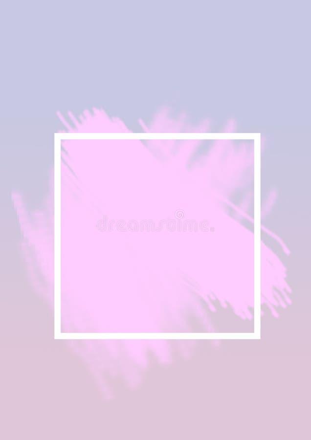 Ligne en pastel abstraite couleur en pastel de forme de fond de minimalis de papier coloré photo libre de droits