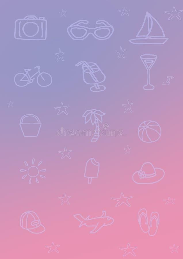 Ligne en pastel abstraite couleur en pastel de forme de fond de minimalis de papier coloré image libre de droits