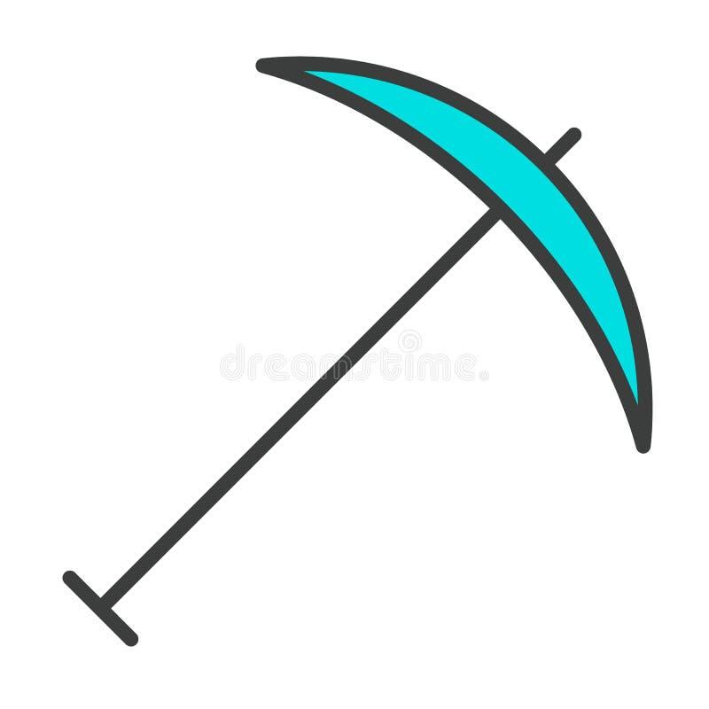 Ligne icône de sélection Pictogramme 96x96 minimal simple de vecteur illustration stock