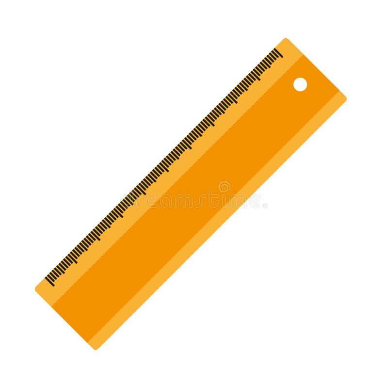 Ligne jaune sur un fond blanc Vecteur illustration de vecteur