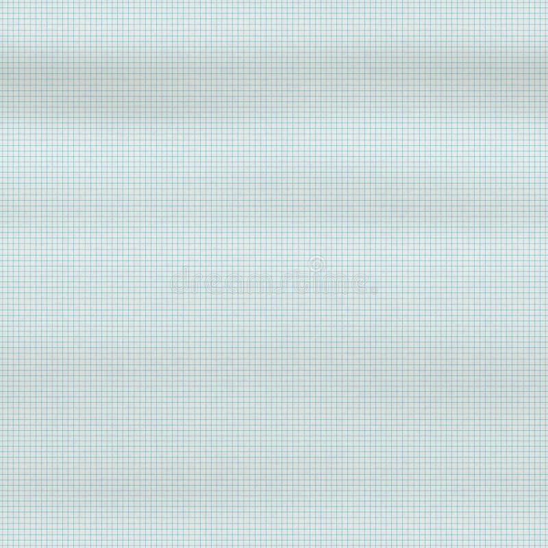 Ligne mathématique de papier d'ordre illustration de vecteur