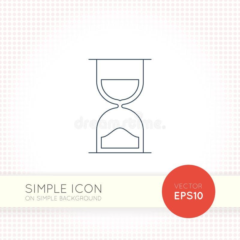 Ligne mince supplémentaire icône d'universel de vecteur de conception Éléments pour l'interface utilisateurs illustration de vecteur