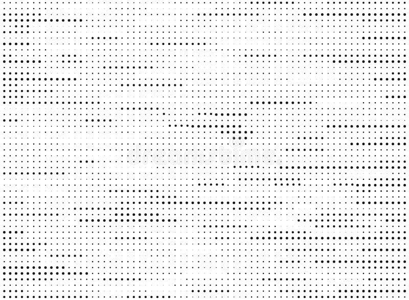 Ligne noire et blanche moderne vecteur tramé de modèle de points de résumé de texture Vecteur eps10 d'illustration illustration libre de droits