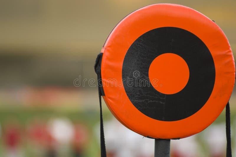 ligne repère de football américain photographie stock libre de droits