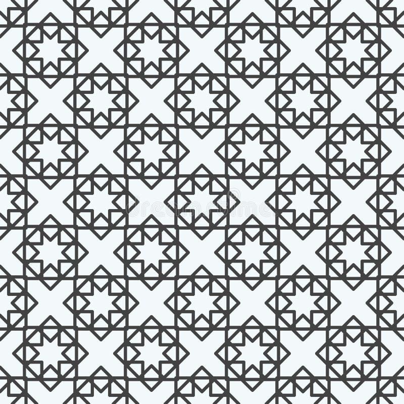 Ligne sans couture illustration géométrique d'abrégé sur vecteur de modèle géométrique de fond de triangle d'impression de concep illustration de vecteur