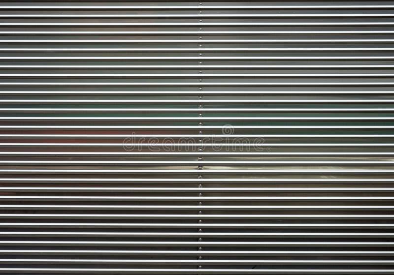 Ligne texture en aluminium de récipient de boîte en métal images libres de droits