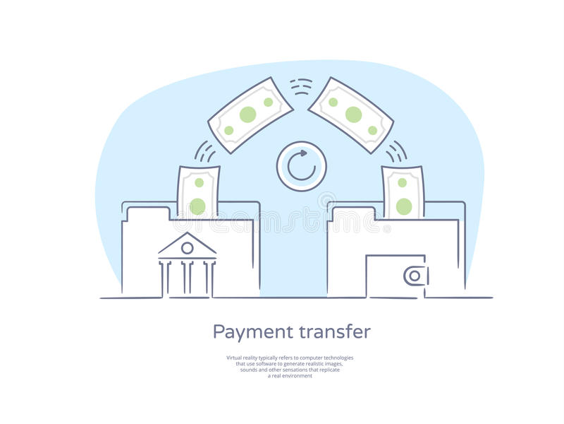 Ligne tirée par la main icône et concept de qualité de la meilleure qualité réglés : Les gens envoyant et recevant l'argent, enca illustration de vecteur