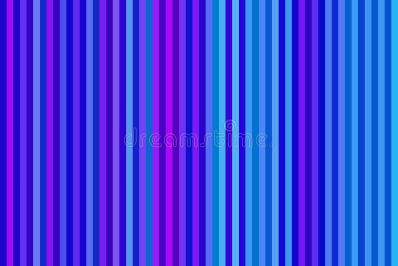 Ligne verticale colorée fond ou papier peint rayé sans couture, copie illustration stock