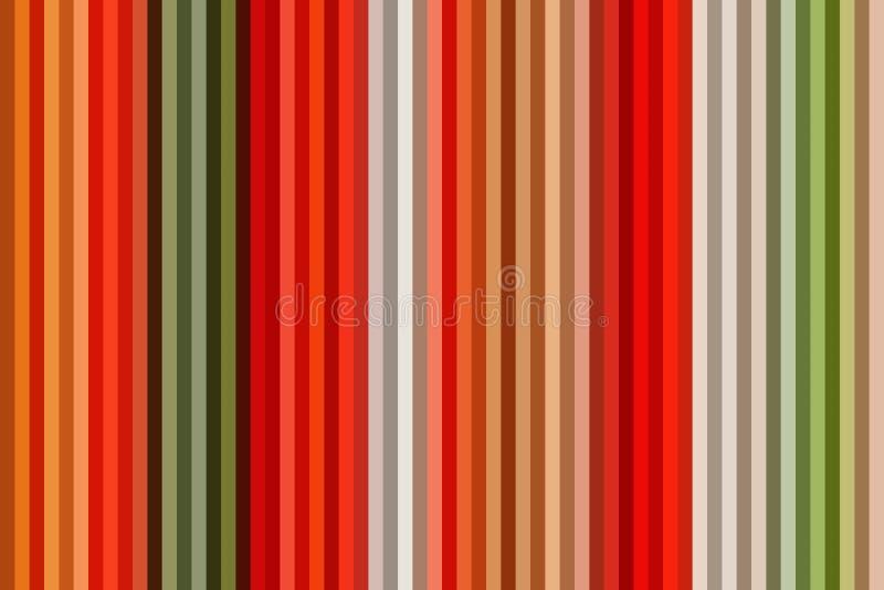 Ligne verticale colorée fond ou papier peint rayé sans couture, textile multicolore illustration stock