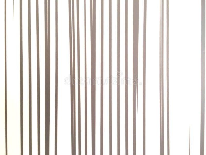 Ligne verticale d'or résumé sur le fond blanc Modèle d'art de mur photo stock