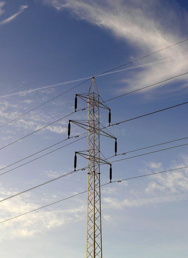 Download Lignes électriques image stock. Image du ligne, énergie - 55817