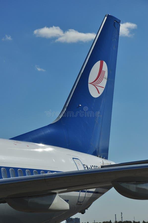 Lignes aériennes de Belavia photos stock
