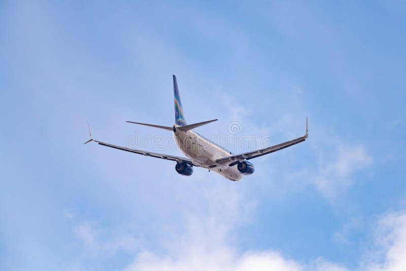 Lignes aériennes de Boeing 737-86N VQ-BIZ Yakutia photographie stock