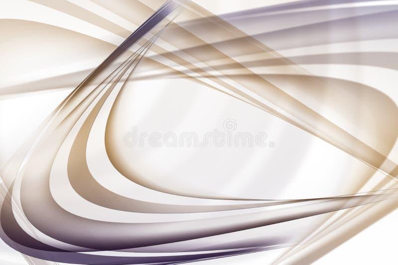 Lignes abstraites illustration de vecteur