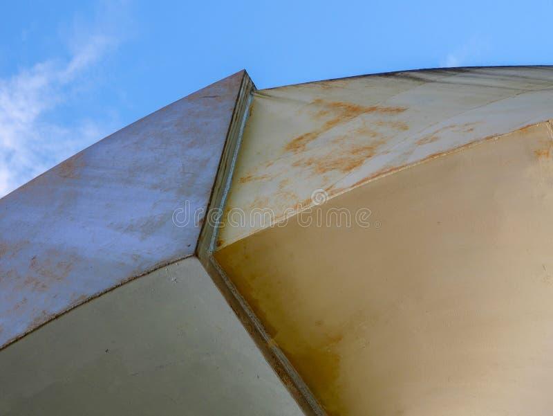 Lignes abstraites d'architecture de fond Groupe moderne d'architecture Fragment de raffinage de buil intérieur/public contemporai image stock