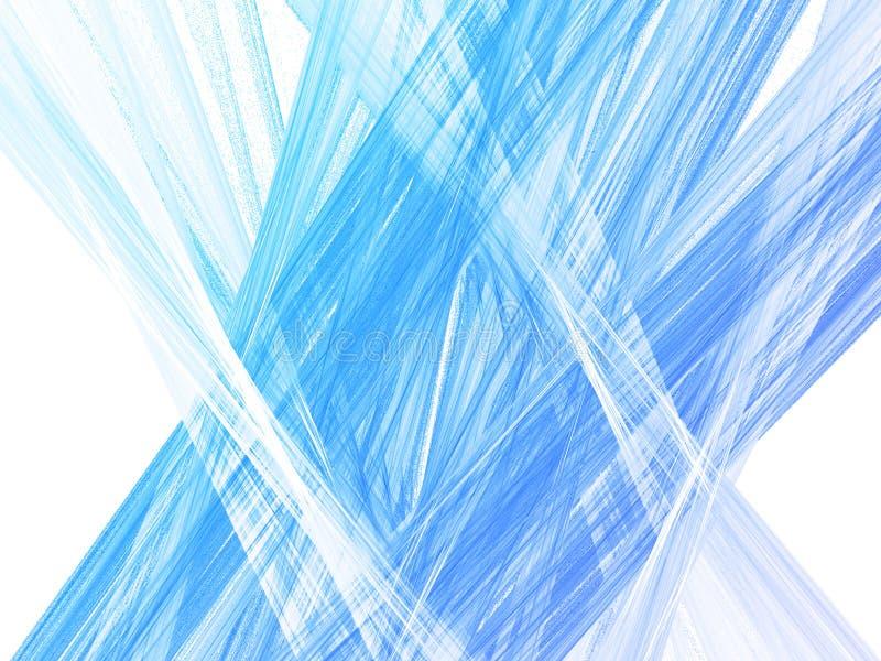 Lignes abstraites de connexion illustration stock