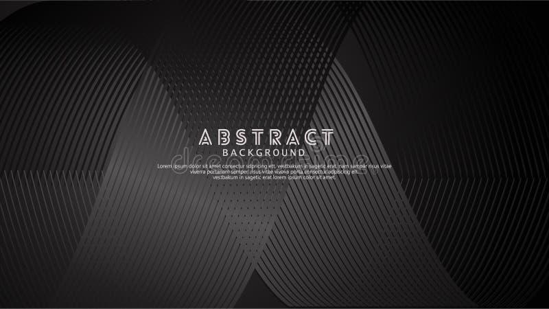 Lignes abstraites fond de vague pour la conception d'élément et d'autres utilisateurs photos stock