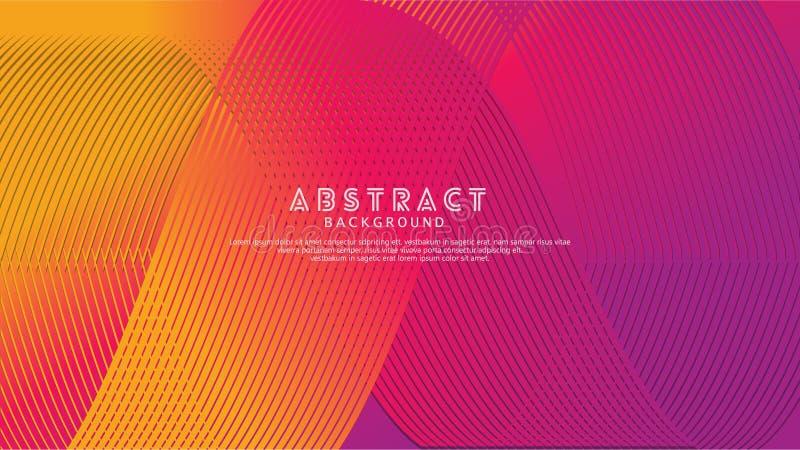 Lignes abstraites fond de vague pour la conception d'élément et d'autres utilisateurs photo stock