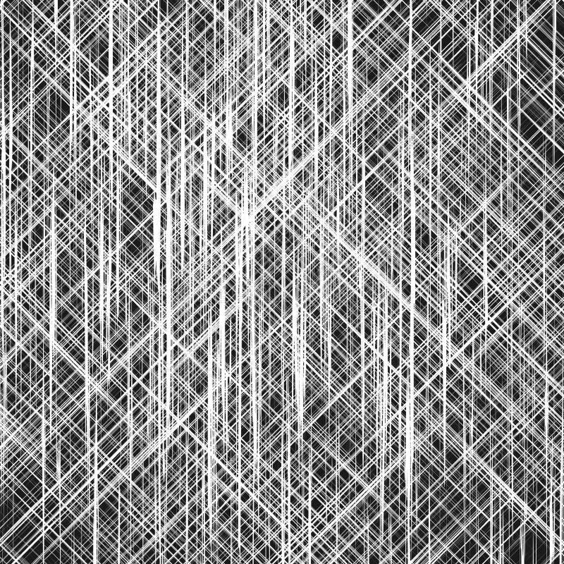 Lignes aléatoires abstraites texture illustration libre de droits
