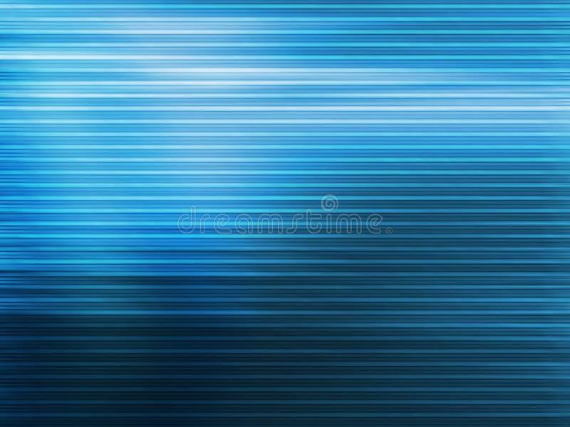 Lignes bleues illustration de vecteur