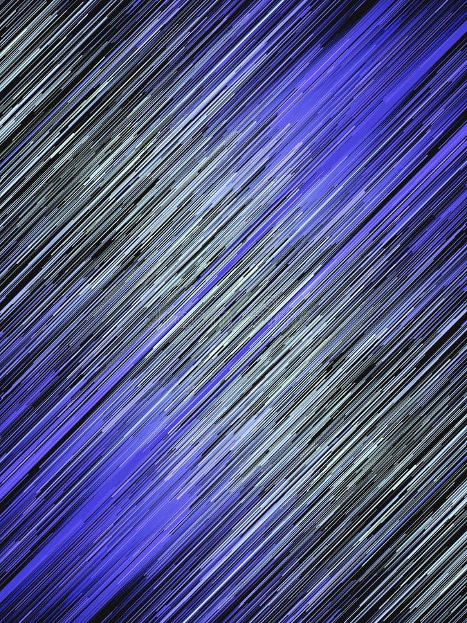 Lignes bleues diagonales fond abstrait de Digital Mod?le g?om?trique g?n?r? par ordinateur rendu 3d illustration de vecteur