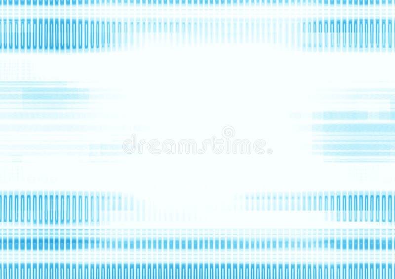 Lignes bleues fond illustration libre de droits