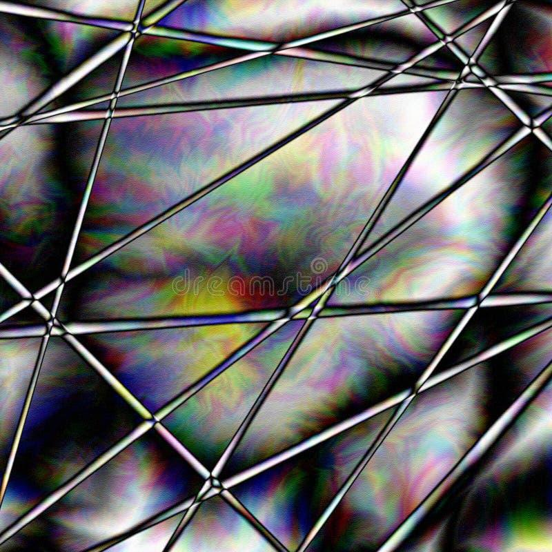Lignes colorées illustration libre de droits