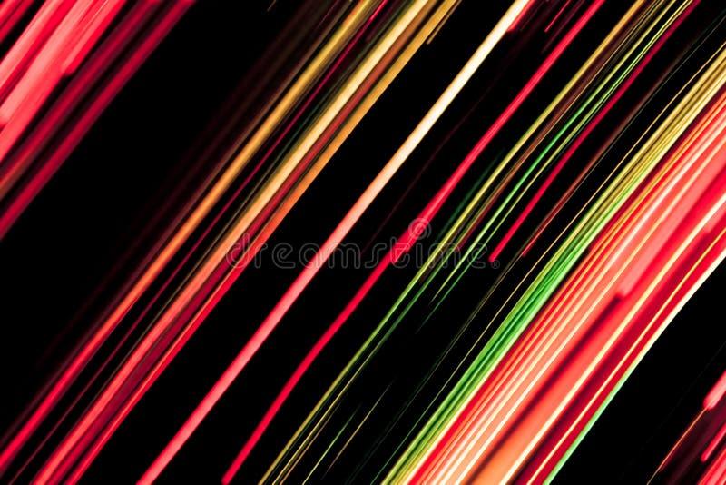 Lignes colorées illustration stock