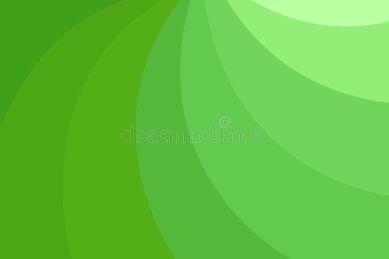 Lignes d'ombre géométriques abstraites colorées illustration stock
