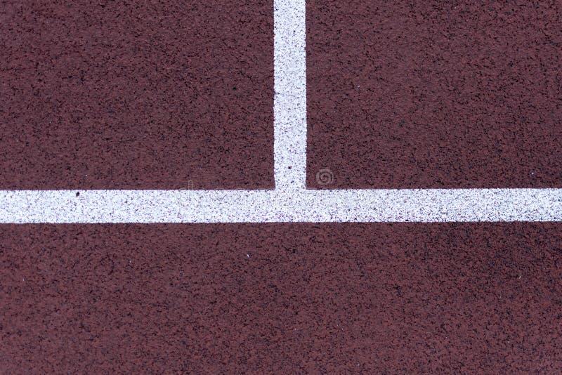Lignes de court de tennis photos stock