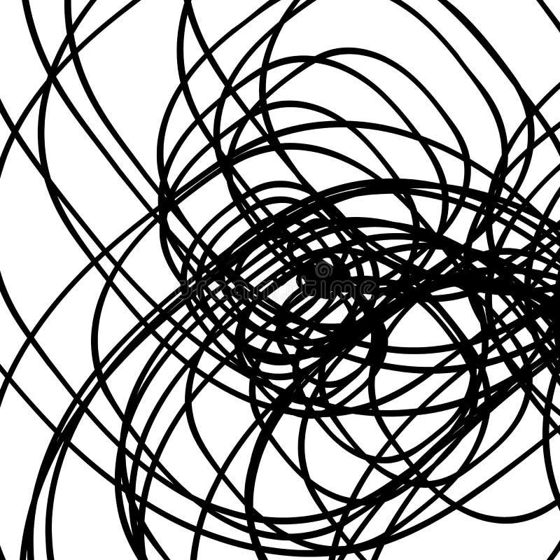 Lignes de intersection aléatoires modèle/texture abstraits géométrique illustration stock