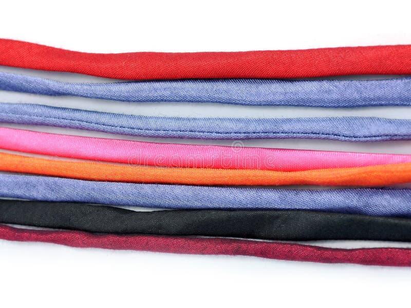 Lignes de textile coloré de la tribu s de côte images stock