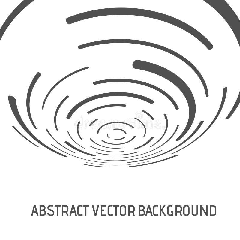 Lignes de vecteur d'Absract illustration de vecteur