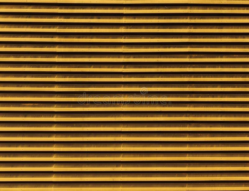 Lignes des évents métalliques photographie stock